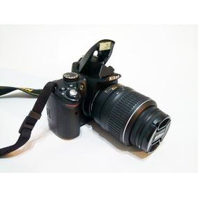 Nikon D5000 + Lente + 2 Baterias + Carregador + Cartão +case