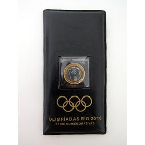 Album Coleção Completa Das 16 Moeda Olímpicas E Bandeira