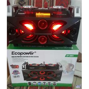 Caixa De Som Ecopower Ep-3801