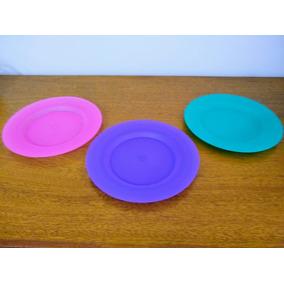 Plato Plástico 22 Cm! Irrompible! |venta Al Por Mayor|