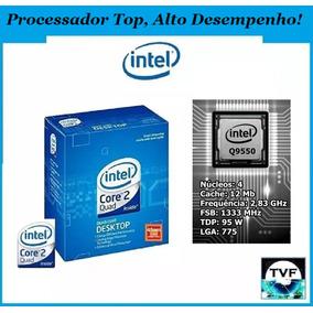 Processador Top Intel Core 2 Quad Q9550 12mb 2,83ghz Lga775