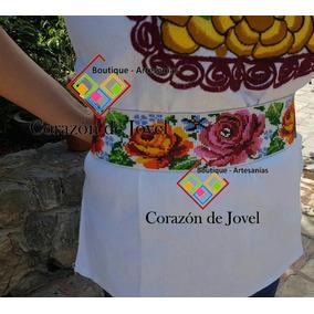 6 Fajas/cintos Tejidos En Chaquira/artesanales De Chiapas!!
