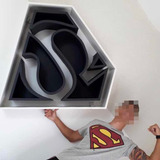 Nicho Superman - Revestimento Vinílico Fosco