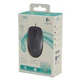 Mouse Logitech M90, Usb, Óptico, 1000 Dpi