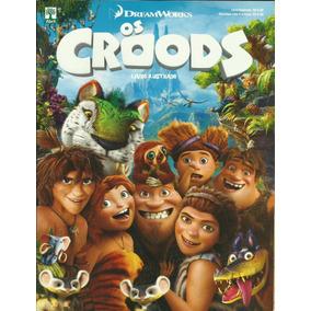 Lote Com 100 Figurinhas Do Album Os Croods 2013
