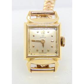 4991b571a5a Relógio Antigo Omega Em Ouro 18k 750 - Feliz Joias