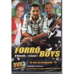 Dvd Forró Boys - Ao Vivo Em Araguaína - To Dvd Vol.3