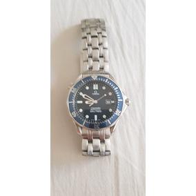 b6744ee7f98 Relogio Omega 007 Seamaster Professional Masculino - Relógios De ...