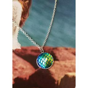 a5cb0f63fdc9 Collar De Sirena Accesorio Mujer Plateado Boho MÃstico