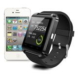 Smartwatch U8 Relogio Pulso Bluetooth Ios Android Celular