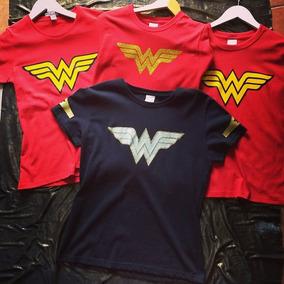 Blusa Mujer Maravilla Wonder Woman