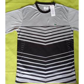 5c478643c0c Lacoste Sport - Camisa Manga Curta Masculinas Preto no Mercado Livre ...