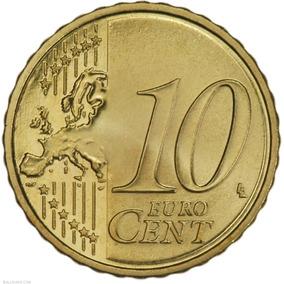 Moeda 10 Euro Cent 2014 Austria