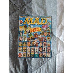 Revista Mad - 50 Years Of Stupidity - Edição Especial