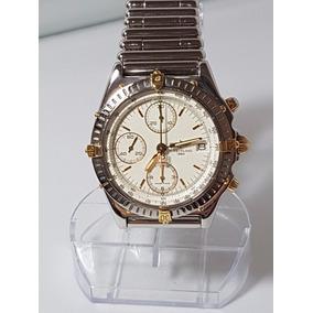 Relogio Breitling Chronomat Bracelete Rollon Bullet Nova