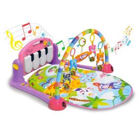 Tapete De Atividades Bebê Ginásio Som E Luz - Piano