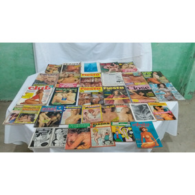 Coleção De Revistas Masculinas Antigas Década 50/60/70/80/90