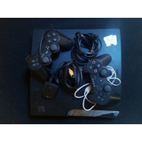 Consola Playstation 3 Slim Con Cables Y 2 Controles 160gb
