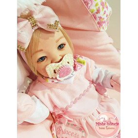 Bebê Reborn Loira Original Newborn Promoção Feita A Mão!!