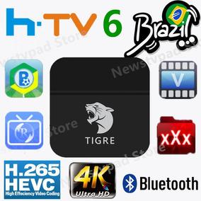 Tablet Box Htvi Versao 6 Tigre H Tv Configurado Usb Branca