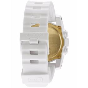 0027e9bdb0b Relogio Nixon Newton Laranja E Branco - Relógios De Pulso no Mercado ...
