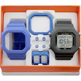 0d9e5cdc54e Pulseira Champion Yot Azul - Relógios De Pulso no Mercado Livre Brasil
