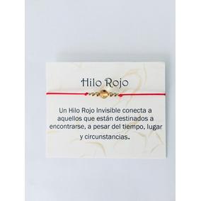 Pulsera Hilo Rojo Ámbar Mal De Ojo Protección.