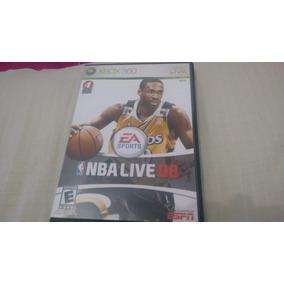 Nba Live 08 - Xbox360 - Completo E Original