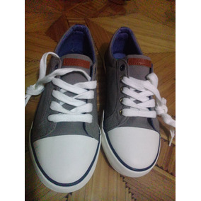 Tennnis Tommy Hilfiger Cormac Lace Up Grey Niño #4