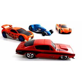 Hotwheels Miniaturas De Veículos - Série Especial - 4 Carros