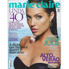 Revista Marie Claire Angelina Jolie