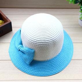 Sombrero Canotier Moda - Sombreros para Niñas en Bogota en Mercado ... 0352409b660