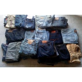 Paca De 39 Pantalones De Marca Caballero Usado Lote