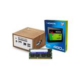 Computadora Pc Mini Intel Dual Core Ssd 480gb 8gb Hdmi W10