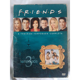 Dvd Friends Box Com 3ª Temporada Completa