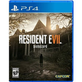 Resident Evil 7 Ps4 (compatible Con Ps Vr) - Fisico