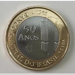Moeda 50 Anos Do Banco Central