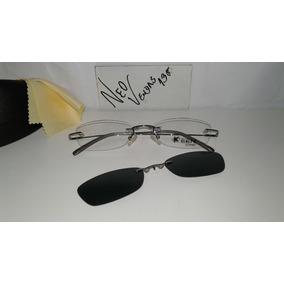 ed8bf0b7dcb23 Oculos Sem Aro Clip On - Óculos no Mercado Livre Brasil