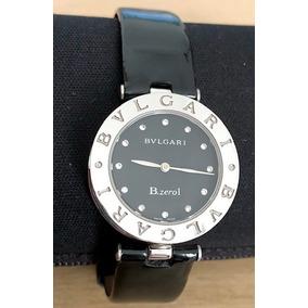 Relógio Usado Bvlgari B.zero1 Preto. Bateria Nova. Promoção!