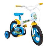 Bicicleta Infantil 3 Anos Menino Aro 12 Styll Kid C/ Rodinha
