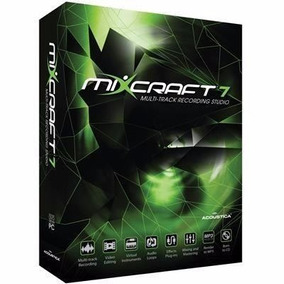 Acoustica Mixcraft Pro Studio 7.7 [( Portugues Br. )]