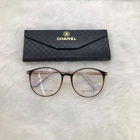 a231cb83d Oculos De Grau Channel Dourado - Óculos Rosa no Mercado Livre Brasil