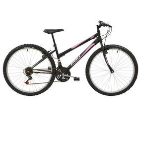 6a4f7959c Bicicleta Aro 26 Polimet Feminina Mtb Com 18 Marchas
