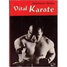 Livro Karate Vital Masutatsu Oyama