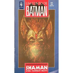 Chq: Um Conto De Batman - Shaman - Completo (todos 5 Livros)