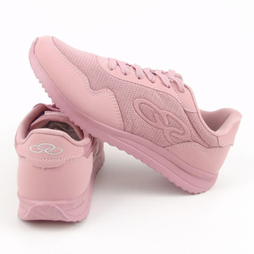 Tenis Feminino Olympikus Jogging 300 360 Na Cor Rosa 4edf35b2924fd