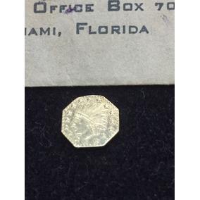 Brecho Charisma-moeda De Ouro-california 1853