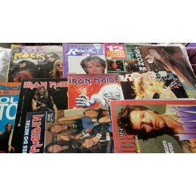 Bon Jovi Iron Maiden The Rollins Stones Etc 10 Posters Rock
