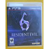 Resident Evil 6 Ps3* Play Magic
