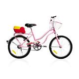 Bicicleta De Paseo Enrique Stars Nena Rodado 20 602 *10